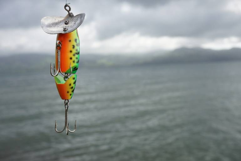 Walleyes Fishing Lure for muddy waters