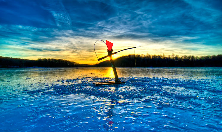 The 7 Best Ice-Fishing Lakes in Michigan